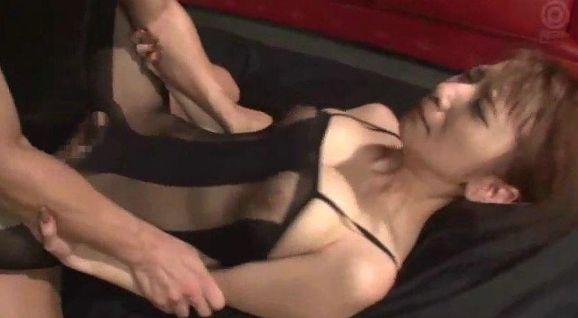 園田みおん 卑猥な全身タイツ姿の巨乳お姉さんと接写セックス!! サムネイル画像
