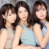 『別メーカーの専属女優3人との主観ハーレムプレイww』の紹介画像