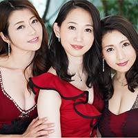 『3人の美熟女との逆4Pハーレム中出し!!』の紹介画像